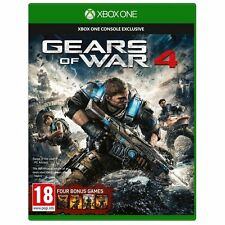 Gears of War 4 + Bonus 4 GAMES Xbox One BRAND NEW