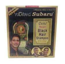 Subaru Black Hair Color Magic Shampoo 2x100ml