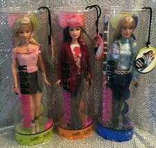 FASHION FEVER 3 PC SET DREW SHANNEN BARBIE DOLL SET 2004 MINT H0942 H0660 H0667