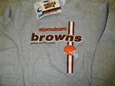 Cleveland Browns youth sweatshirt crewneck 5-6 Medium MINT Logo7 RaRe NEW w/ tag