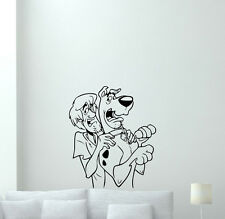 Scooby-Doo Wall Decal Shaggy Cartoon Dog Vinyl Sticker Kids Nursery Decor 229zzz