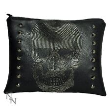 Skull clutch /make up bag -gothic -witchcraft- Christmas present