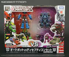 TAV35 AUTOBOTS VS DECEPTICONS SET Transformers Adventure Series New Takara