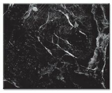 Counterart Tempered Glass With Black Marble Design Cutting Board