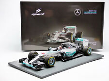 Spark Mercedes F1 W06 Winner Australia 2015 L. Hamilton #44 1/18 New! In Stock!