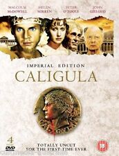 CALIGULA UNCUT IMPERIAL EDITION NEW 4 DVD 3 VERSIONS OF THE MOVIE RARE BOXSET R4
