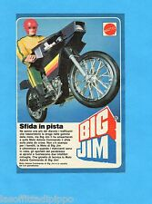 TOP985-PUBBLICITA'/ADVERTISING-1985- MATTEL BIG JIM - MOTO AZIONE COMMANDO