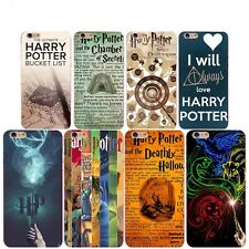 HARD TRANSPARENT PLASTIC HARRY POTTER PHONE COVER CASE FOR IPHONE 6/6S/5/5S/SE