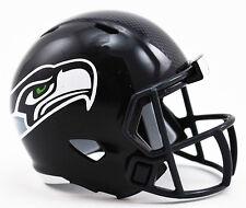 ***NEW*** SEATTLE SEAHAWKS NFL Riddell SPEED POCKET PRO Mini Football Helmet