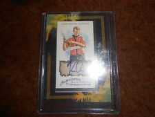 REAL AUTOGRAPH 2008  KEVIN VAN DAM VANDAM Allen & Ginter framed mini  very nice