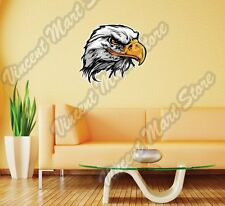 "Bald Eagle Hawk White Head Bird Gift Wall Sticker Room Interior Decor 25""X20"""