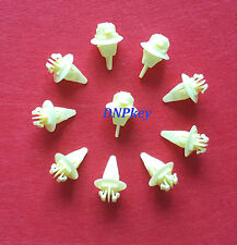TOYOTA universal Pare-chocs Fender roue moulage clips fastener x10 (695)