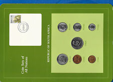 Coin Sets of All Nations South Africa UNC 1981-1983 1 Rand 1982 km115