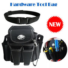 Nylon Waist Electrician Tool Bag for Pouch Holder Carrier Multiple pockets PVC