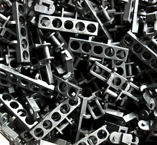 Lego x10 Large Black Technic Chain/Track Links Part - 3873