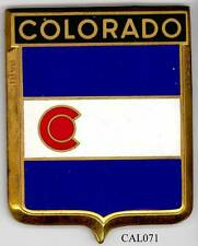 CAL071 - PLAQUE DE CALANDRE AUTO - COLORADO