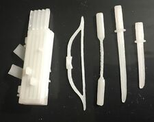 GI Joe cobra Black Major CUSTOM Storm Shadow Glow In The Dark Accessories Lot