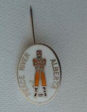 Peace River Alberta 12 Foot Davis Lapel Hat Souvenir Pin