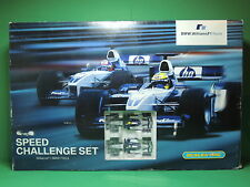SCALEXTRIC Circuit Speed Challenge Williams F1 Team  BMW FW24 slot car set 1:32