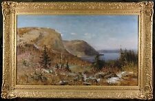 Russian 19th Century Oil Panting by Nikolai Petrovich Bogdanov-Bel'sky Landscape