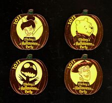 Disney Halloween Party Tinker Bell Pooh Nightmare Jack Woody Toy Story Pin Set