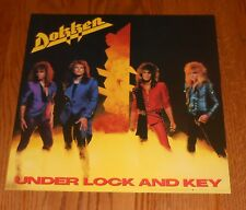 Dokken Under Lock and Key Poster 2-Sided Flat Square 1985 Promo 12x12