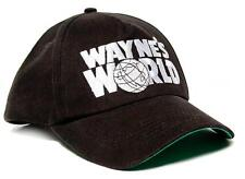 Halloween Costume WAYNE'S WORLD Embroidered Cotton Twill TV Cap Hat Snapback