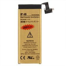 2680mAh Ultra High Capacity Replacement Gold Battery for iPhone 4S ONLY