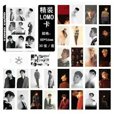 30pcs /set Kpop EXO Collective For Life Personal Photocard Poster Lomo Cards