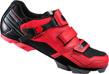 Scarpe bici MTB Shimano SH-XC51R rosse mountain bike shoes red 44 46
