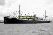 mc0249 - Shaw Savill Cargo Ship - Waipawa , built 1934 - photo 6x4