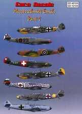 Euro Decals 1/72 MESSERSCHMITT Bf-109E EMIL Fighter Part 1