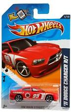2012 Hot Wheels #161 HW Main Street 2011 Dodge Charger R/T