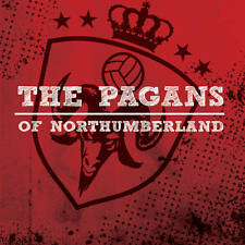 "THE PAGANS OF NORTHUMBERLAND s/t RED vinyl 7"" Oi! Punk new Randale Longshot"