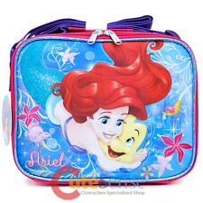 Disney Little Mermaid Ariel School Lunch Bag Insulated Snack Bag Sea Shell