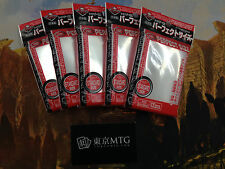 x5 packs Perfect Fit / Size Sleeves KMC Card-Barrier 100 ct