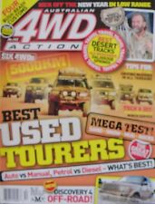 Australian 4WD Action Magazine No 143 - Best Used Tourers-Mega Test
