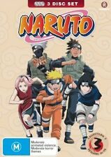 Naruto : Collection 3 (DVD, 2008, 3-Disc Set) LIKE NEW REGION 4