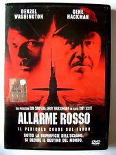 Dvd Allarme Rosso di Tony Scott 1995 con Ologramma tondo Usato