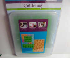 Cuttlebug All In One Embossing Plates Cupcake Celebration - Used Once