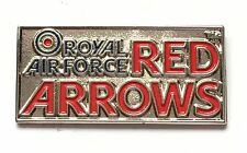 RAF Royal Air Force Red Arrows Oblong Pin Badge *Official Product