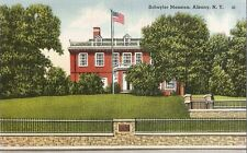 Postcard New York Albany Schuyler Mansion National Historic Landmark MINT 1940s
