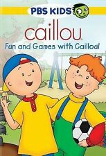 Caillou: Fun and Games with Caillou! New/1st class shipping