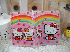 CUTE PARTY GIFT TRAVEL PLASTIC PROTECT PASSPORT HOLDERS COLLECTION hello kitty