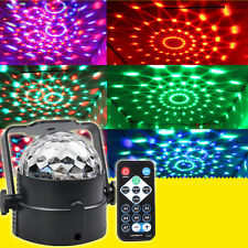 LED RGB Magic Ball Disco Crystal Effect DJ Club KTV Bar Dance Party Stage Light