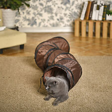 Pet Cat Kitten Tunnel Toys Type S Collapsible Tunnel Cat Rabbit Funny Tunnel Toy