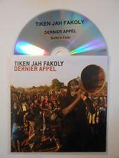 TIKEN JAH FAKOLY : DERNIER APPEL ♦ CD ALBUM PORT GRATUIT ♦
