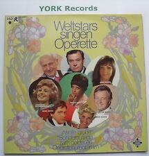WELTSTARS SINGEN OPERETTA II - Various - Ex Con LP Record Telefunken S 14672-P