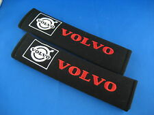 2 x Seat Belt Cover Shoulder Pads Covers Cushion for Volvo xc90 s60 s80 s40 v70