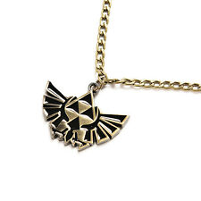 Cosplay For The Legend of Zelda Necklace Triforce Pendant Jewelry Hot SLGCA